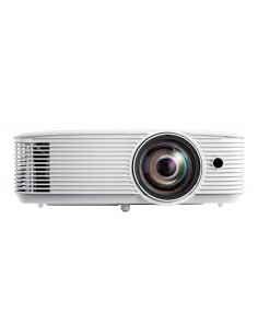Optoma W318STe data projector Desktop 3800 ANSI lumens DLP WXGA (1280x800) 3D White Optoma E1P1A29WE1Z1 - 1