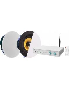 Vision AV-1800+CS-1900 ljudförstärkare Uppträdande/scen Vit Vision AV-1800+CS-1900 - 1