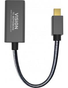 Vision TC-MDPHDMI/HQ videokaapeli-adapteri Mini DisplayPort HDMI-tyyppi A (vakio) Musta Vision TC-MDPHDMI/HQ - 1