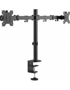 "Vision VFM-DPD2B monitor mount / stand 41.9 cm (16.5"") Clamp Black Vision VFM-DPD2B - 1"