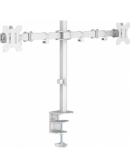 """Vision VFM-DPD2W monitorin kiinnike ja jalusta 68.6 cm (27"""") Puristin Valkoinen Vision VFM-DPD2W - 1"""
