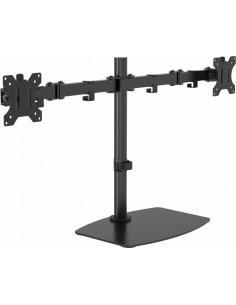 Vision VFM-DSDB multimedialaitteiden kärry ja teline Musta Litteä paneeli Multimediateline Vision VFM-DSDB - 1