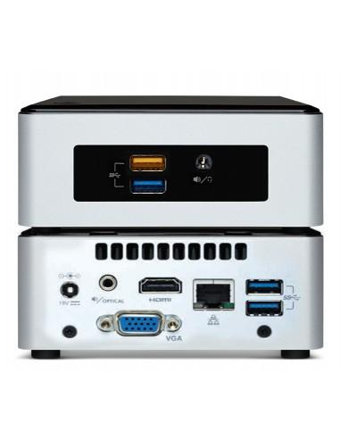 Vision Celeron VMP digitaalinen mediasoitin Musta, Hopea Full HD 120 GB 7.1 kanavaa 3840 x 2160 pikseliä Vision VMP-CE3050/2/120