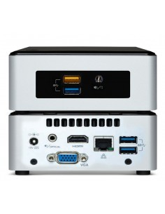 Vision Celeron VMP digital media player Black, Silver Full HD 3840 x 2160 pixels Vision VMP-CE3050/4/128 - 1