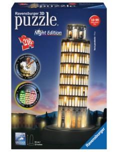 Ravensburger Leaning Tower of Pisa 3D-palapeli Ravensburger 12515 9 - 1