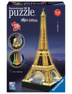 Ravensburger Eiffelturm bei Nacht 3D puzzle Ravensburger 12579 - 1