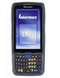 "Intermec CN51 RFID-handdatorer 10.2 cm (4"") 480 x 800 pixlar Pekskärm 350 g Svart Intermec CN51AQ1SNU2W1000 - 1"