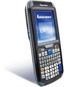 "Intermec CN70e mobiilitietokone 8.89 cm (3.5"") 480 x 640 pikseliä Kosketusnäyttö 491 g Musta Intermec CN70EQ6KD02W1R00 - 1"