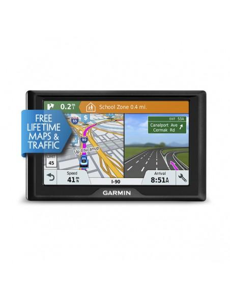 """Garmin Drive 51 LMT-S navigaattori Kiinteä 12.7 cm (5"""") TFT Kosketusnäyttö 170.8 g Musta Garmin 010-01678-12 - 2"""