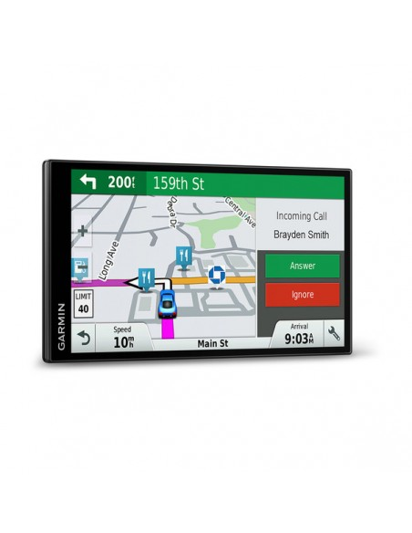 "Garmin DriveSmart 61 LMT-S navigator Fixed 17.6 cm (6.95"") TFT Touchscreen 243 g Black Garmin 010-01681-12 - 6"