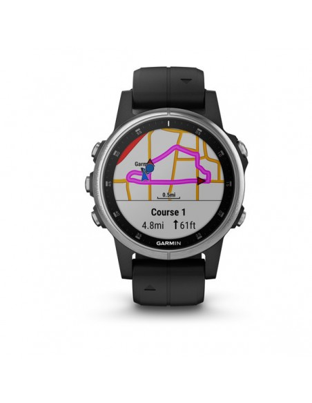 "Garmin fēnix 5S Plus 3.05 cm (1.2"") 42 mm MIP Silver GPS Garmin 010-01987-21 - 2"