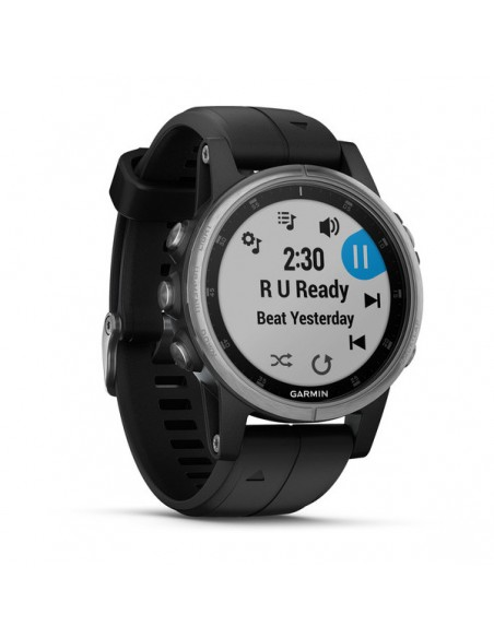 "Garmin fēnix 5S Plus 3.05 cm (1.2"") 42 mm MIP Silver GPS Garmin 010-01987-21 - 3"