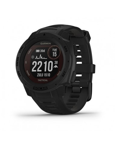 Garmin Instinct Solar Tactical Edition MIP Black GPS (satellite) Garmin 010-02293-03 - 1