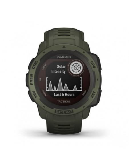 Garmin Instinct Solar Tactical Edition MIP Vihreä GPS (satelliitti) Garmin 010-02293-04 - 2