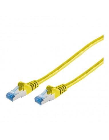 Innovation IT 205867 nätverkskablar Gul 0.25 m Cat6a S/FTP (S-STP) Innovation It 205867 - 1