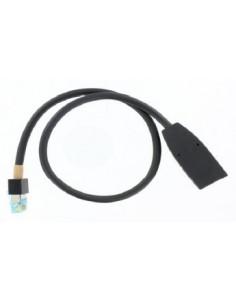 POLY 2457-23716-001 verkkokaapeli Musta 0.3 m Polycom 2457-23716-001 - 1