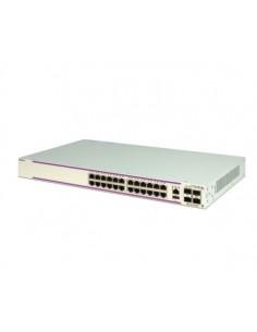 Alcatel OS6350-P24-EU network switch Managed L3 Gigabit Ethernet (10/100/1000) Power over (PoE) 1U White Alcatel OS6350-P24-EU -
