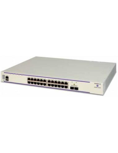 Alcatel-Lucent OS6450-24 hanterad L2/L3 Gigabit Ethernet (10/100/1000) 1U Vit Alcatel OS6450-24-EU - 1