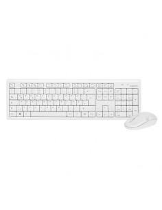 LogiLink Keyboard Mouse Combo wireless näppäimistö USB Valkoinen Logitech ID0104W - 1