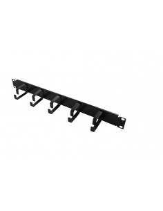 "LogiLink 19"" Cable Management Bar 1U Logitech OR101B - 1"