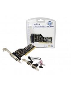 LogiLink PCI parallel / serial card liitäntäkortti/-sovitin Logitech PC0018 - 1