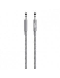 Belkin AV10164BT04-GRY audio cable 1.2 m 3.5mm Grey Belkin AV10164BT04-GRY - 1