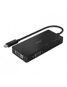 Belkin AVC003BTBK interface hub USB 3.2 Gen 1 (3.1 1) Type-C Black Belkin AVC003BTBK - 1