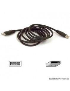 Belkin USB Extension Cable 1.8m USB-kablar 1.8 m Svart Belkin F3U134B06 - 1