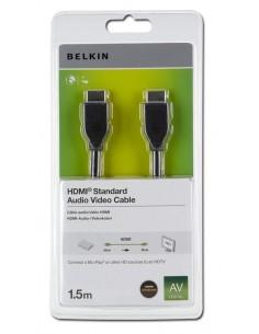 Belkin HDMI 1.4 1.5m cable Type A (Standard) Black Belkin F3Y017R1.5MBLK - 1