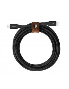 Belkin F8J241BT04-BLK USB-kaapeli 1.2 m USB C Musta Belkin F8J241BT04-BLK - 1