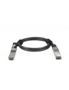 Netgear ACC761-10000S valokuitukaapeli 1 m QSFP28 Musta Netgear ACC761-10000S - 1