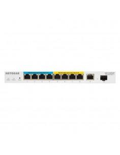 Netgear 10-Port Gigabit Ethernet Ultra60 PoE++ Smart Managed Pro Desktop Switch with 1 SFP and Copper Uplink Netgear GS110TUP-10