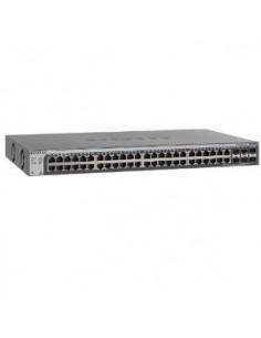 Netgear GS752TSB hanterad L3 Gigabit Ethernet (10/100/1000) Svart Netgear GS752TSB-100EUS - 1