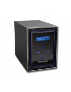 Netgear ReadyNAS 422 NAS Skrivbord Nätverksansluten (Ethernet) Svart C3338 Netgear RN422E6-100NES - 1