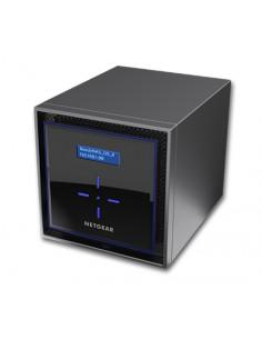 Netgear ReadyNAS 424 NAS Nätverksansluten (Ethernet) Svart C3338 Netgear RN42400-100NES - 1
