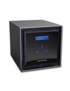 Netgear ReadyNAS 424 NAS Skrivbord Nätverksansluten (Ethernet) Svart C3338 Netgear RN424E6-100NES - 1