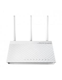ASUS RT-N66W wireless router Gigabit Ethernet Dual-band (2.4 GHz / 5 GHz) 3G 4G White Asus 90-IG1Z002M04-APA0- - 1