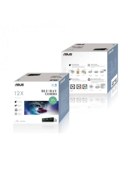 ASUS BC-12D2HT levyasemat Sisäinen Blu-Ray DVD Combo Musta Asus 90DD0230-B20010 - 2