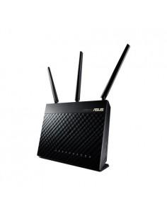 ASUS RT-AC68U langaton reititin Kaksitaajuus (2,4 GHz/5 GHz) Gigabitti Ethernet Musta Asus 90IG00C0-BU2000 - 1