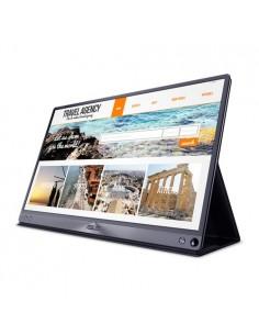 "ASUS ZenScreen MB16AC 39.6 cm (15.6"") 1920 x 1080 pikseliä Full HD LED Harmaa Asus 90LM0381-B01170 - 1"