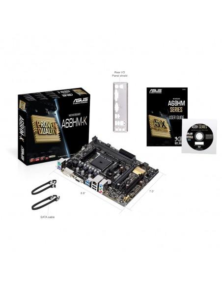 ASUS A68HM-K AMD A68 Socket FM2+ mikro ATX Asus 90MB0KU0-M0EAY0 - 6