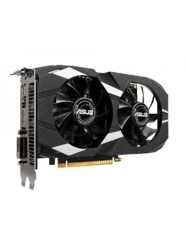 ASUS Dual -GTX1650-O4G NVIDIA GeForce GTX 1650 4 GB GDDR5 Asus 90YV0CV2-M0NA00 - 1