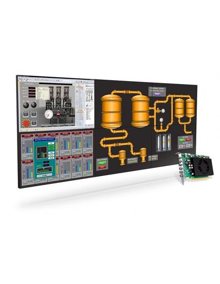 Matrox C680 PCIe x16 Matrox C680-E4GBF - 3