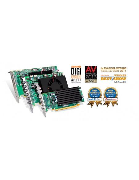 Matrox C680 PCIe x16 Matrox C680-E4GBF - 10