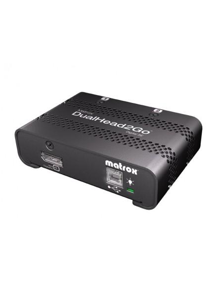 Matrox DualHead2Go Digital SE DisplayPort 2x DVI-D Matrox D2G-DP2D-IF - 7