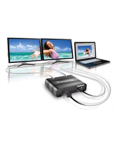 Matrox DualHead2Go Digital SE DisplayPort 2x DVI-D Matrox D2G-DP2D-IF - 12