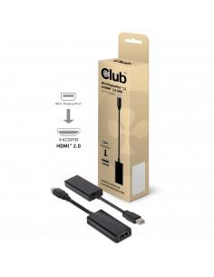 CLUB3D CAC-1170 cable gender changer Mini DisplayPort 1.2 HDMI 2.0 Musta Club 3d CAC-1170 - 1