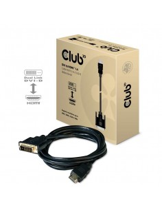CLUB3D DVI to HDMI 1.4 Cable M/M 2m/ 6.56ft Bidirectional Club 3d CAC-1210 - 1