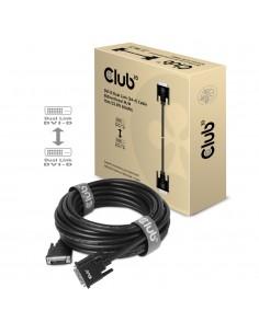 CLUB3D DVI-D DUAL LINK (24+1) CABLE BI DIRECTIONAL M/M 3m 9.8 ft 28AWG Svart Club 3d CAC-1223 - 1