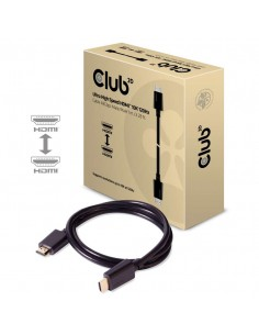 CLUB3D Ultra High Speed HDMI 2.1 Cable 10K 120Hz, 48Gbps Male/Male 1 m./3.28 ft. Club 3d CAC-1371 - 1